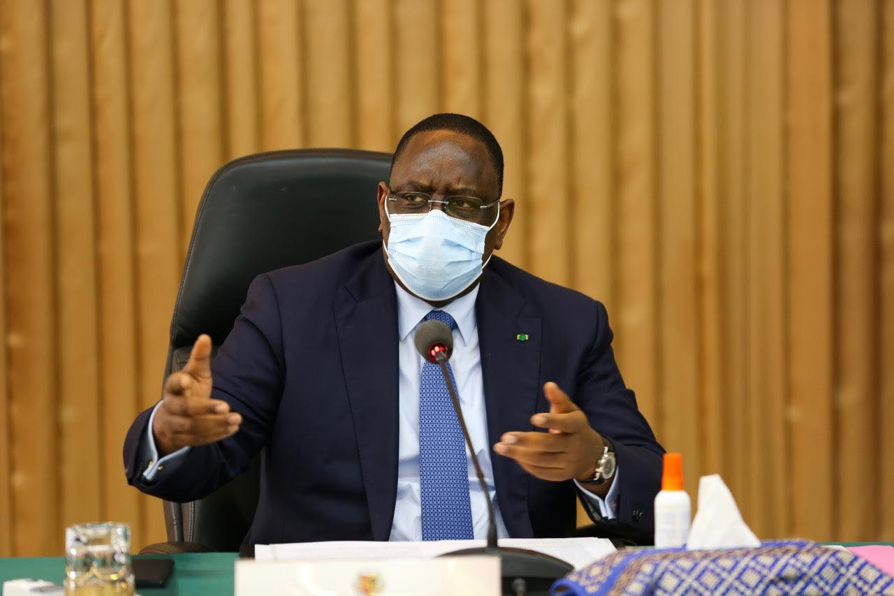 Macky Sall déplore le traitement alarmiste des infos Covid-19 par la presse sénégalaise