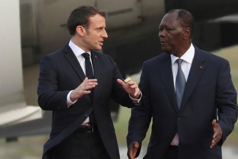 Quand Macron saluait la décision historique de Ouattara de ne pas se présenter pour un 3e mandat