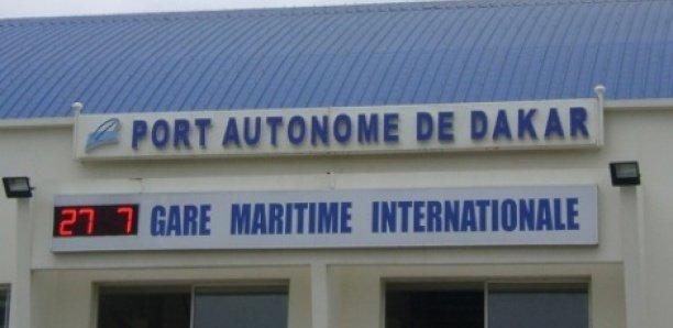 Trafic maritime du Port Autonome de Dakar : en mai 2020, l'activité s'est consolidée de 8,4% comparée au mois précédent