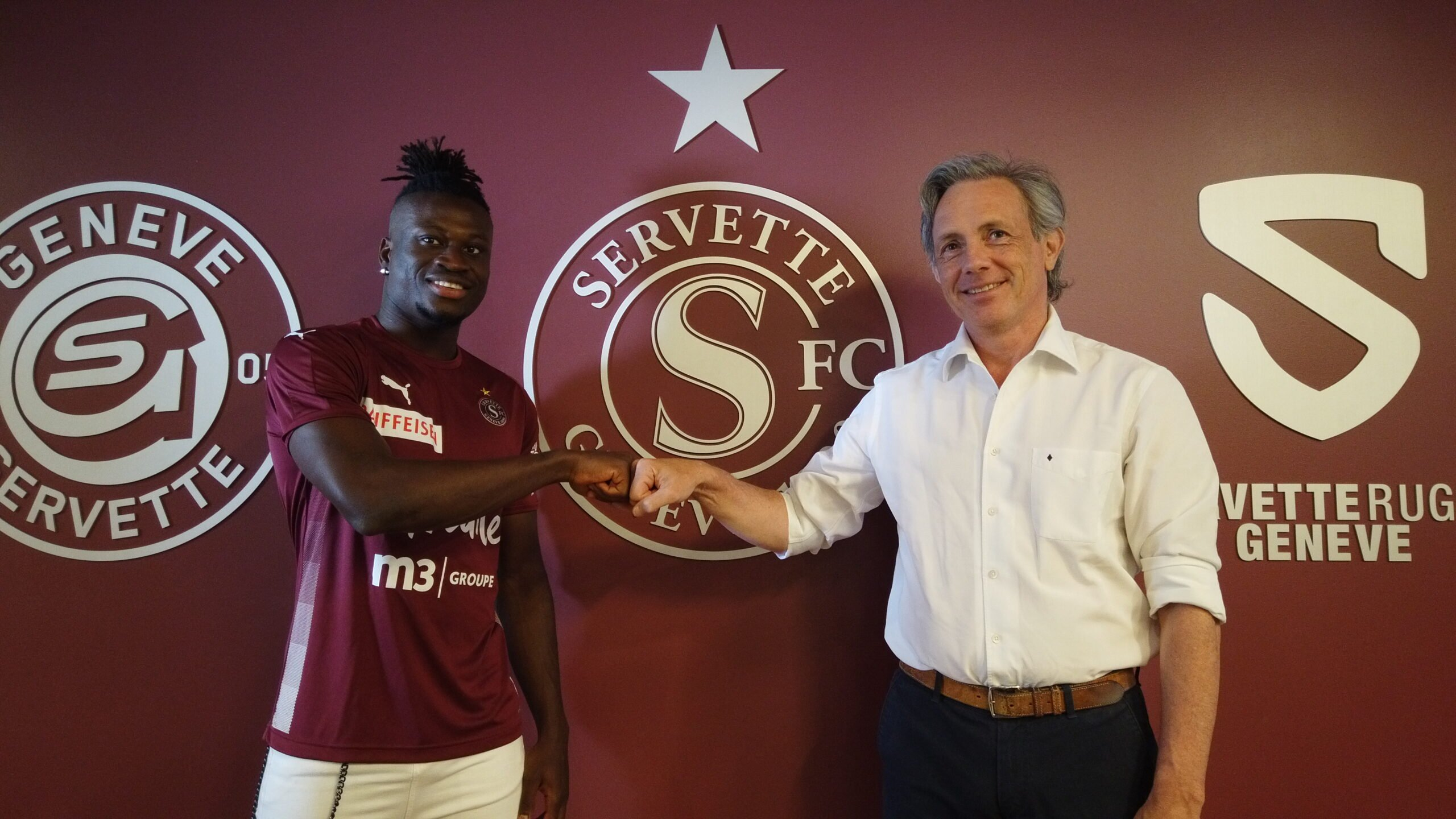 Le Sénégalais Arial Mendy très content de rejoindre le club suisse Servette FC