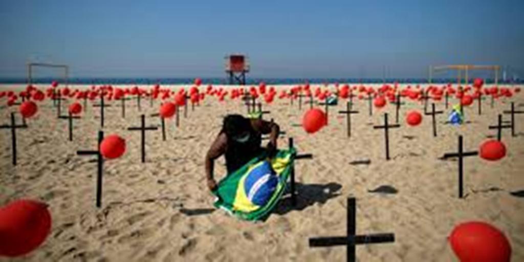 Le coronavirus a fait plus de 100 000 morts au Brésil