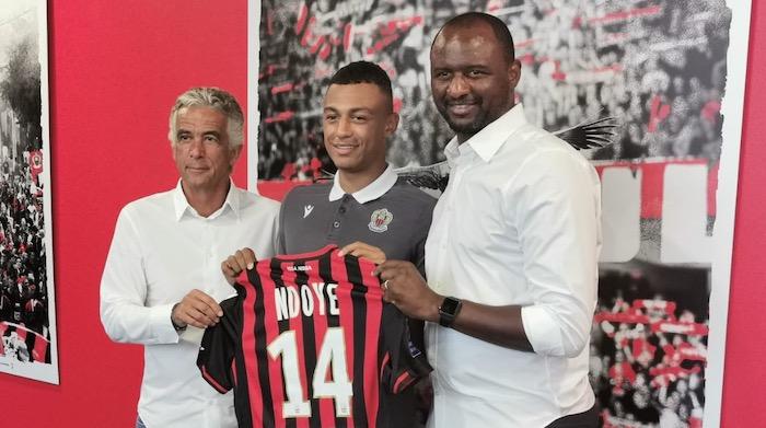 Le Sénégalo-suisse Dan Ndoye signe à l'OGC Nice