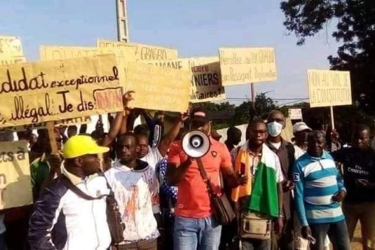 Manifestations en Côte d'Ivoire: des médiateurs en patrouille à Daoukro