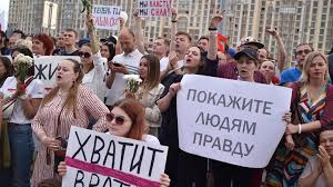 La Biélorussie se prépare à une manifestation massive, Loukachenko dit avoir le soutien de Poutine