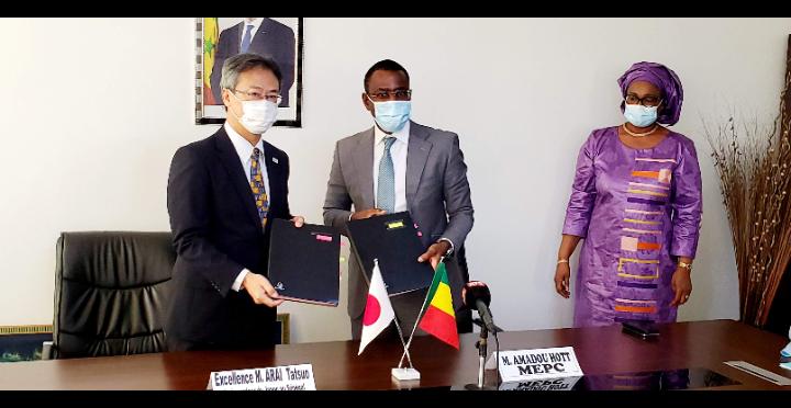 Echange de Notes relatif à l'assistance alimentaire : le Japon octroie une subvention au Sénégal à hauteur de 1, 250 milliards FCFA