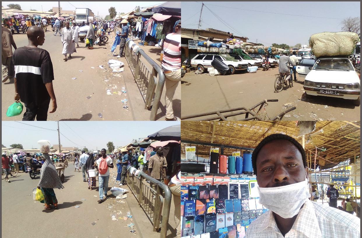 Covid-19: l'économie de Diaobé, qui abrite le plus grand marché hebdomadaire du pays, en Réanimation