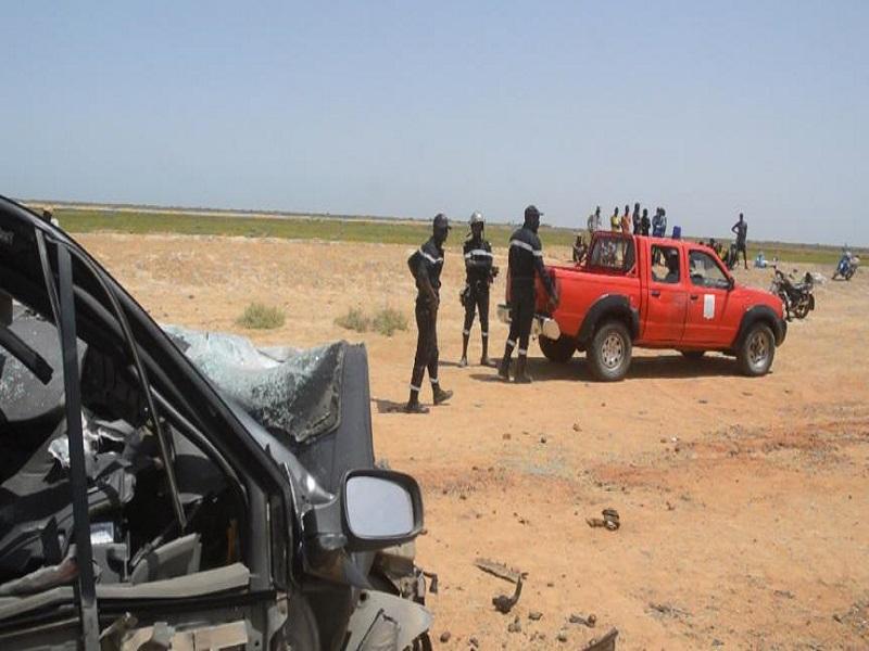 Linguère : 1 mort et 7 blessés dont 4 grièvement enregistrés dans un accident