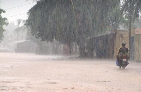 Sénégal : des manifestations pluvio-orageuses prévues au Sud avec des possibilités d'extension sur le Centre-sud
