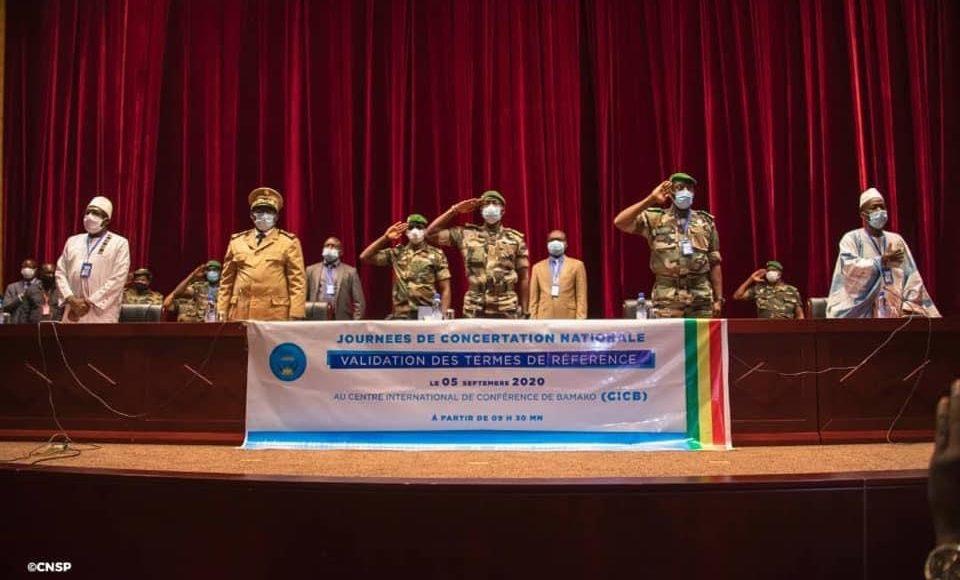 Concertations au Mali : le projet de la charte de transition en débat