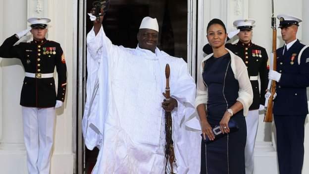 Gambie : l'épouse de Yahya Jammeh visée par des sanctions américaines