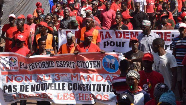 Présidentielle en Guinée: l'opposition anti-Alpha Condé appelle à des manifestations fin septembre