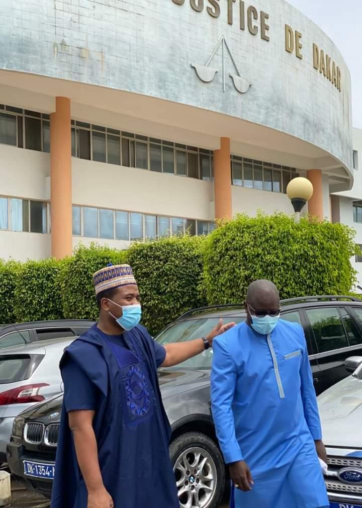 Procès Aliou Sall contre D-media: à sa sortie d'audience, Bougane Gueye promet des révélations prochainement