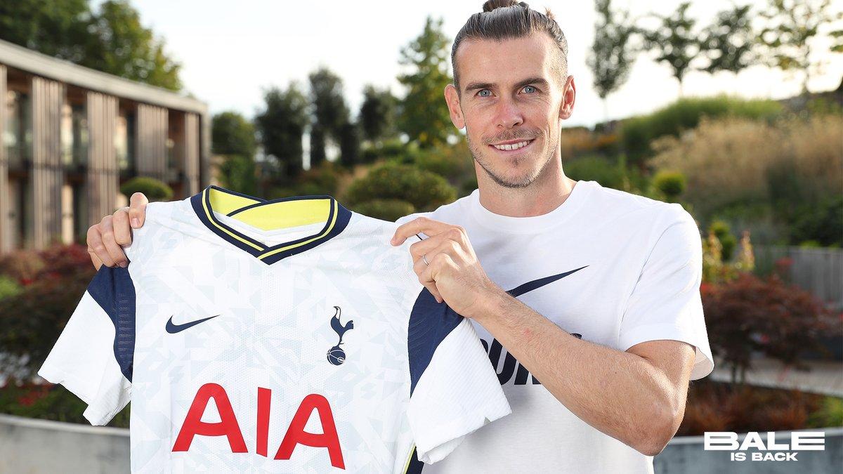 Les premiers mots de Gareth Bale à son retour de Tottenham: «j'ai faim, je suis motivé et j'ai hâte de commencer»