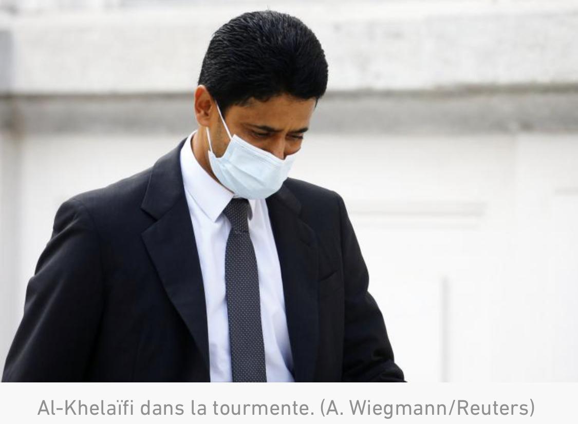FIFA : 28 mois de prison (dont du sursis) requis contre Nasser al-Khelaïfi, trois ans pour Jérôme Valcke