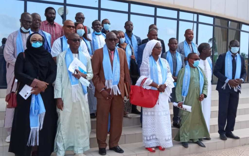 Les 12 membres du tribunal des Pairs du Cored installés: une étroite collaboration avec le CNRA annoncée