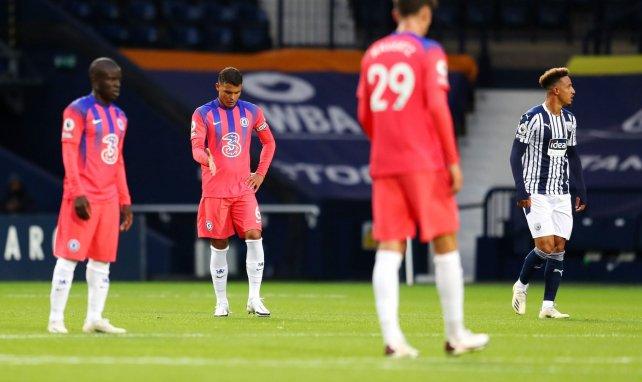 Premier League : battu 3 buts à 0 à la première période par West Bromwich, Chelsea revient au score