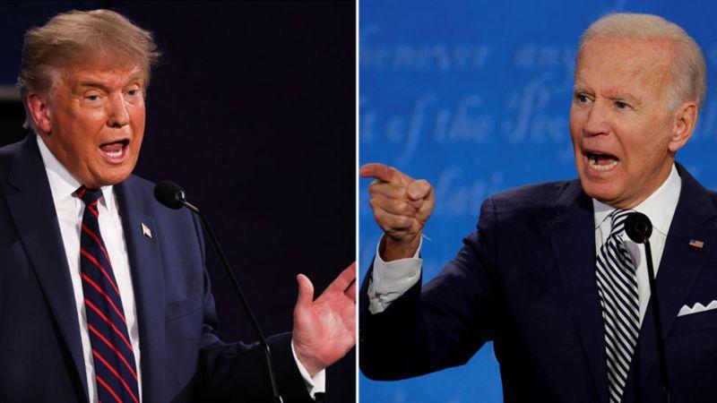 Débat de la présidentielle américaine de 2020: échanges chaotiques et insultes entre Donald Trump et Joe Biden