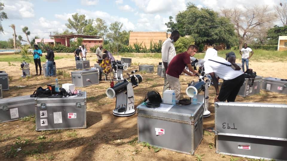 La NASA prépare sa future mission spatiale LUCY depuis le Sénégal