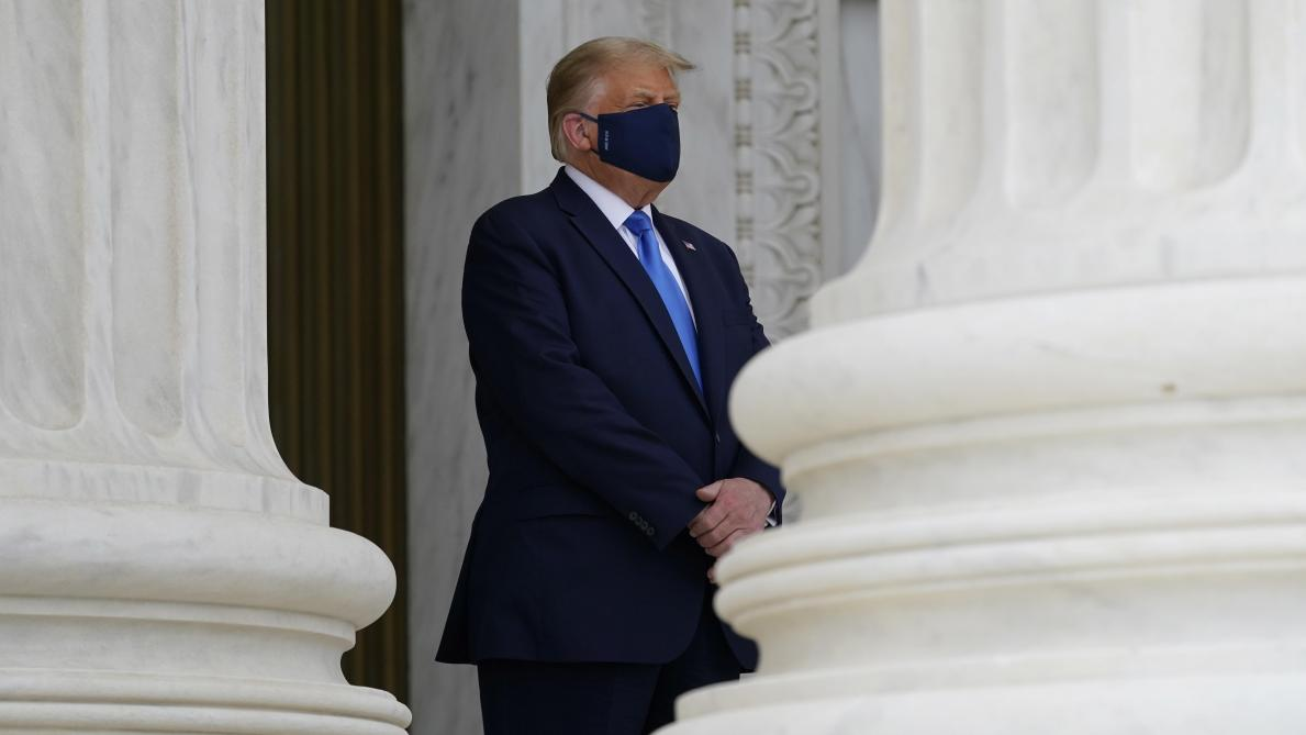Donald Trump et son épouse testés positifs à la Covid-19