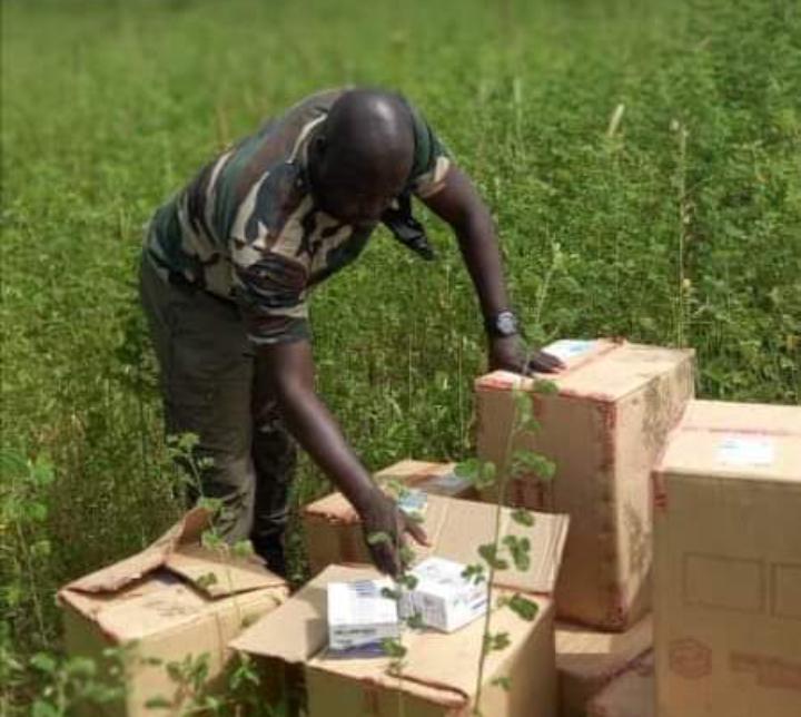 La Douane saisit 40.000 flacons d'Artéméther injectable à Nioro et 6 conteneurs d'huile végétale à Dakar