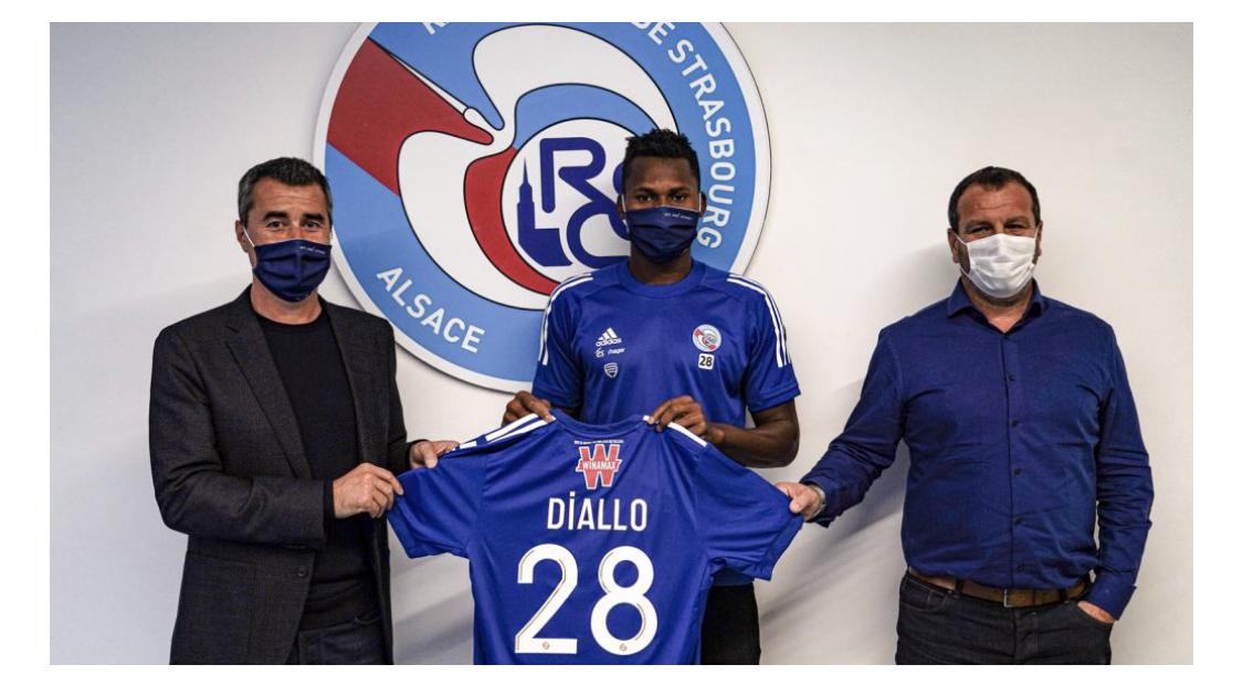Habib Diallo signe à Strasbourg