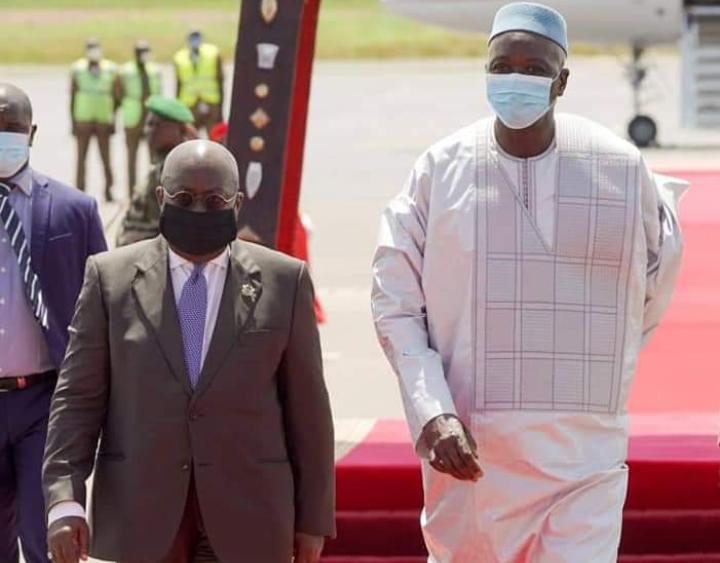 Visite du Président en exercice de la CEDEAO au Mali
