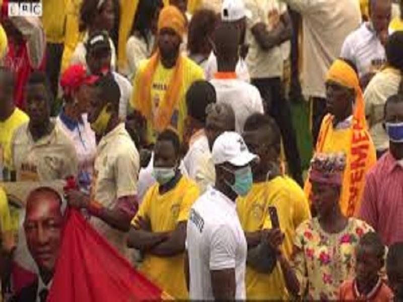 Campagne électorale en Guinée : l'impossible respect des mesures barrières