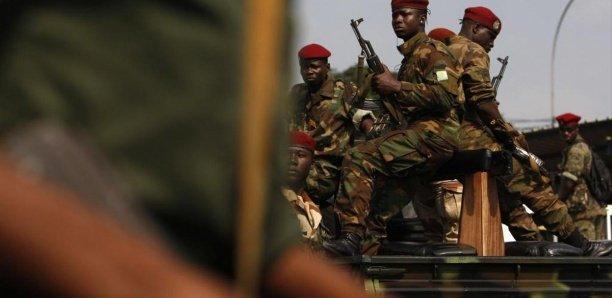 Guinée : un Colonel tué suite à l'attaque d'un camp militaire à Kindia