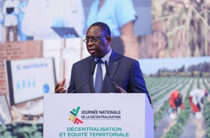 Macky se vante : « le Sénégal n'a rien à voir avec ce qu'il y avait il y a 10 ou 15 ans »