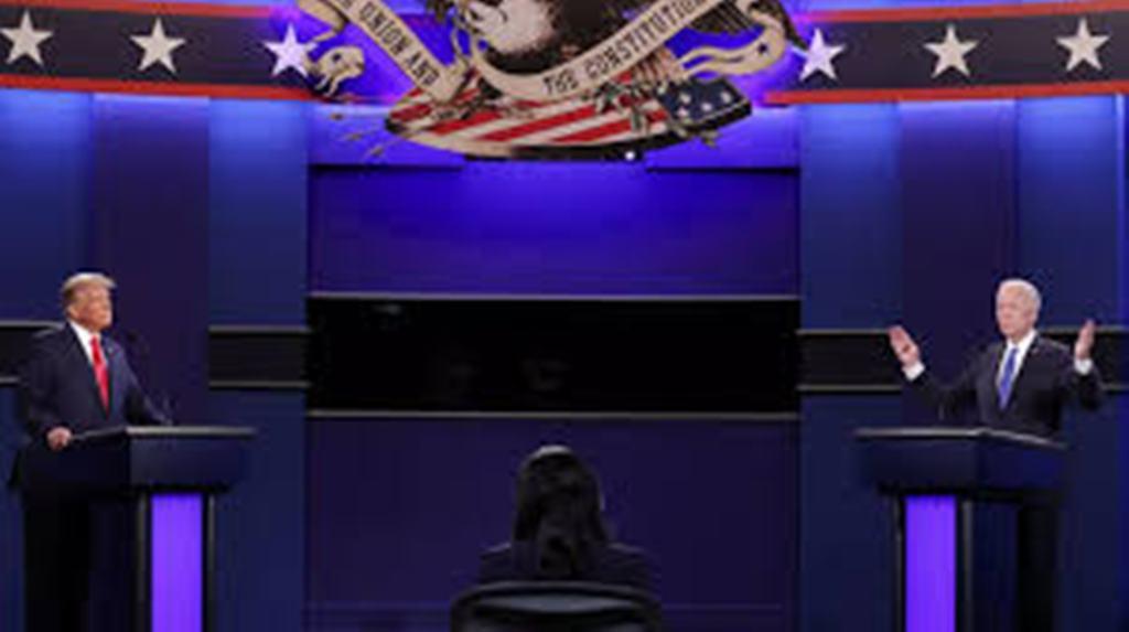 Présidentielle américaine: un dernier débat Trump-Biden musclé mais plus cordial