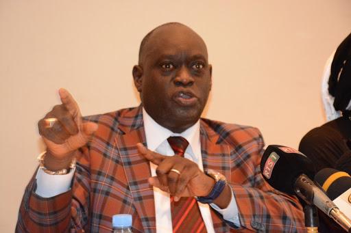 Présidentielle guinéenne: Me El Hadj Diouf, avocat de Cellou Dalein Diallo, en conférence de presse ce vendredi