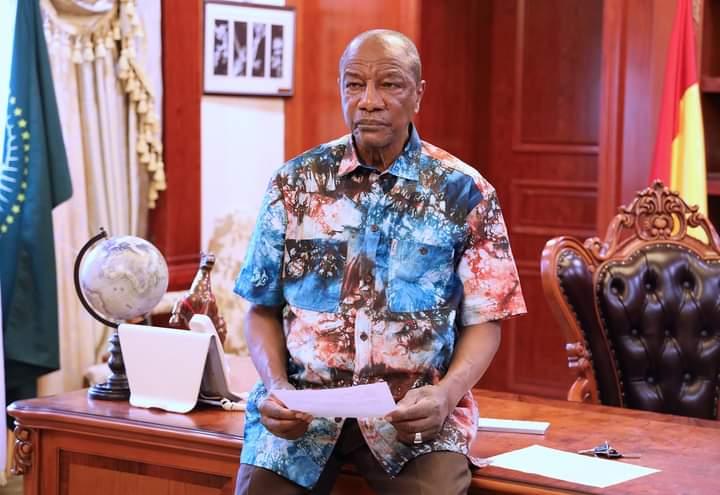 Déclaré vainqueur par la CENI, Alpha Condé parle d'une «victoire de la Guinée »