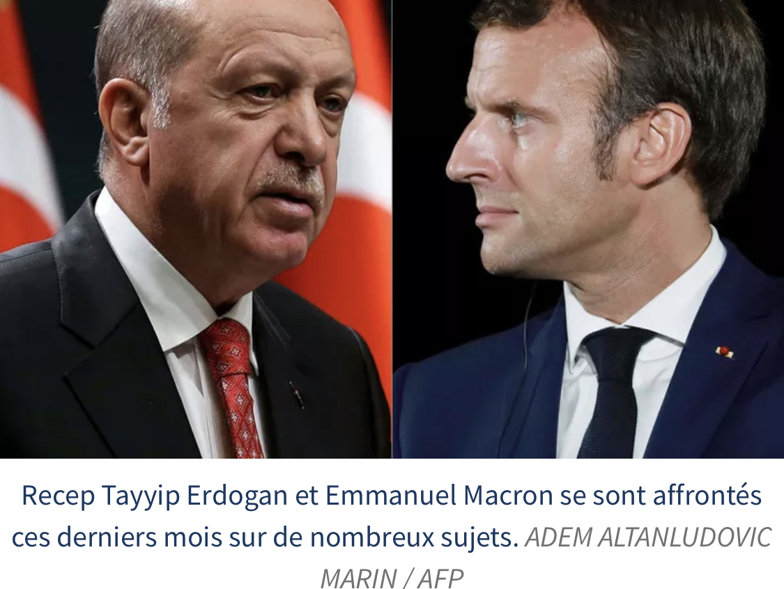Erdogan dénonce l'attitude de Macron envers les musulmans et interroge sa «santé mentale»