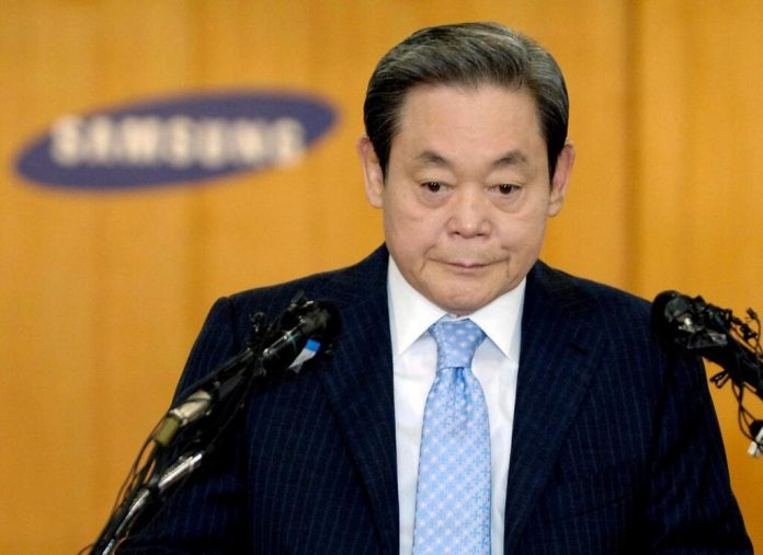 Décès du président de Samsung Electronics, Lee Kun-hee, à l'âge de 78 ans