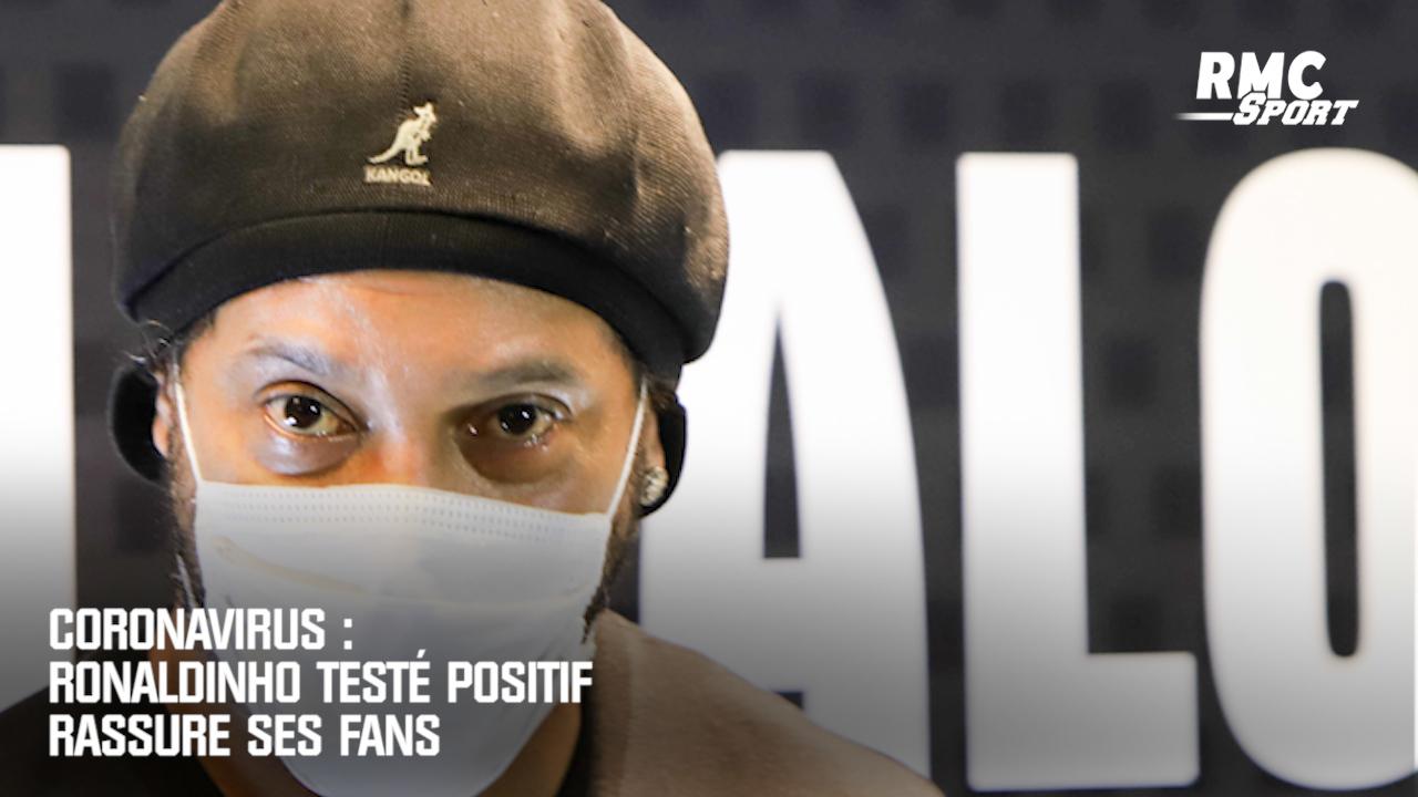 Ronaldinho testé positif à la covid-19