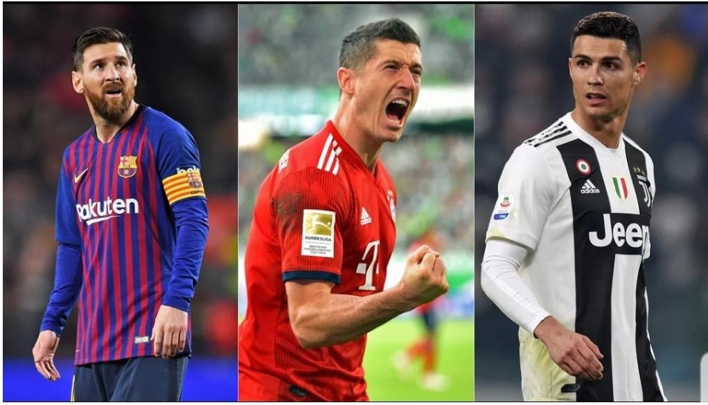 Le classement des top buteurs européens: Lewandowski sur le trône, Messi et CR7 out