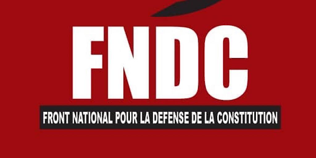 Guinée: sa marche interdite, le Fndc accable Alpha Condé
