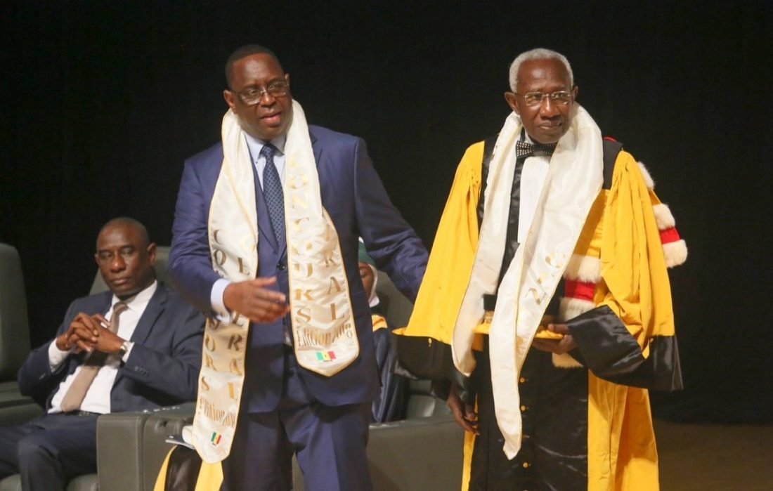 Décès du Professeur Iba Der Thiam : l'hommage de Macky Sall