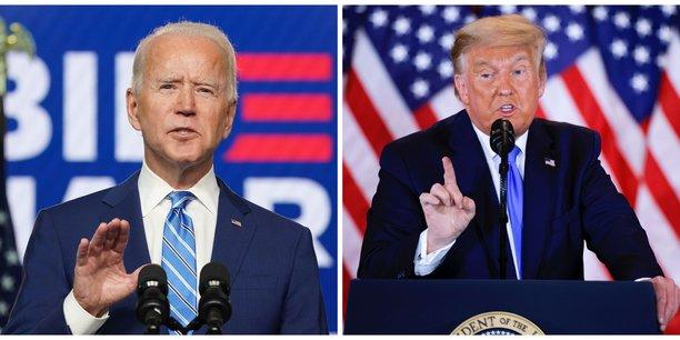 #InsideUSA - Déclaré vainqueur par les tendances, Joe Biden devra s'armer de patience