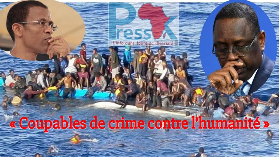 Plus de 480 Sénégalais morts en mer: À qui imputer ce crime contre l'humanité ?