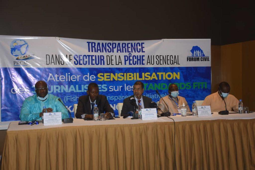 Atelier sensibilisation du Forum civil sur les standards FITI: les pêcheurs étalent le filet de leurs misères