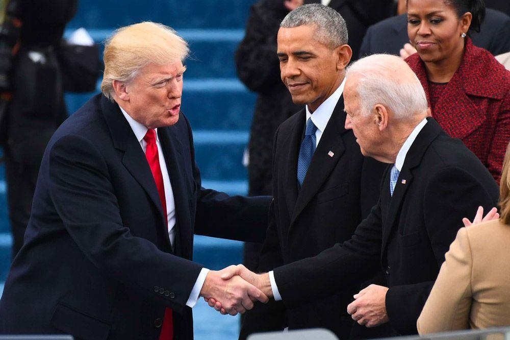 """Donald Trump affirme que Joe Biden a gagné... """"parce que les élections ont été truquées"""""""