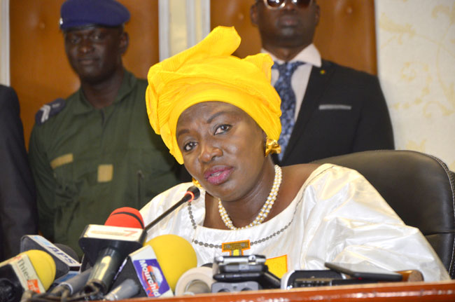 Aminata Touré : Idrissa Seck « a fait interdire l'accès au Cese au DAF et DRH qui devraient faire le point à ses collaborateurs »