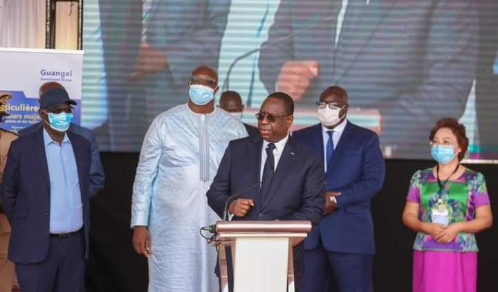 Macky Sall lance Dakar First, un projet immobilier qui va générer 1.000 emplois permanents