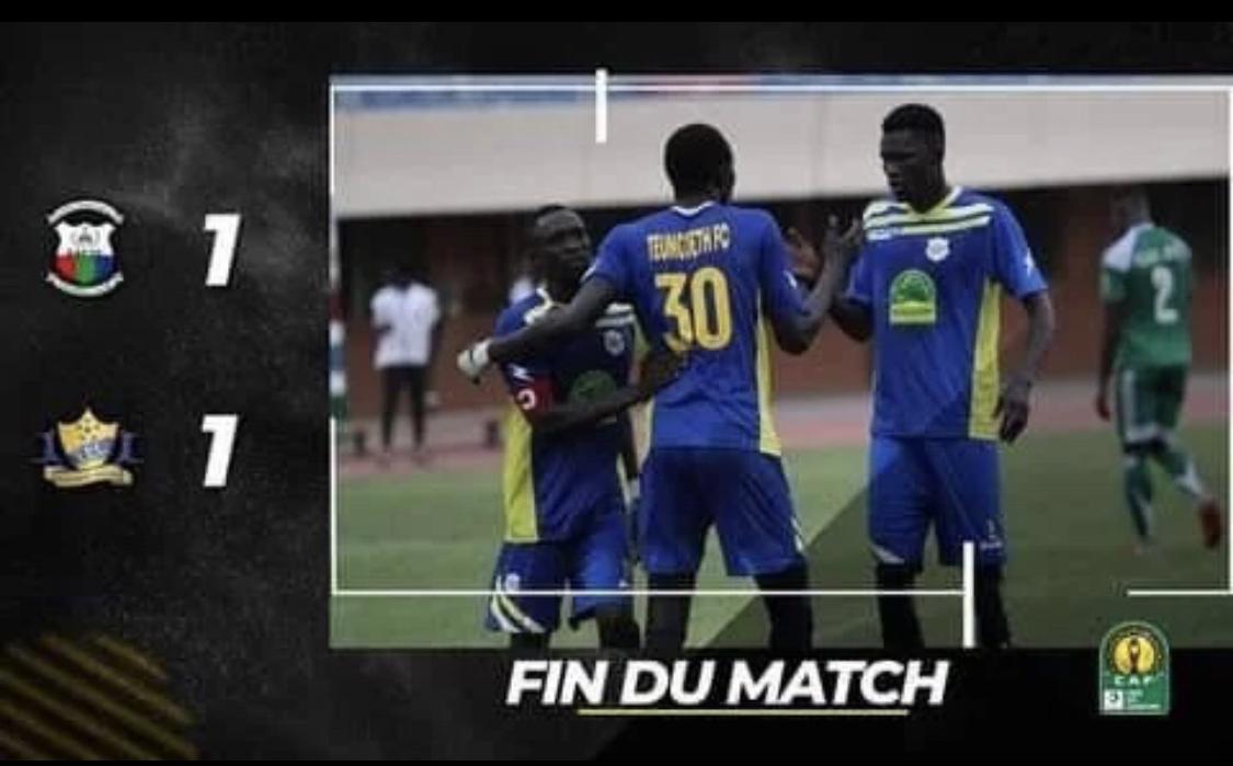 Préliminaires Ligue Africaine des Champions : Réduit à 10, Teungueth FC décroche le nul en Gambie