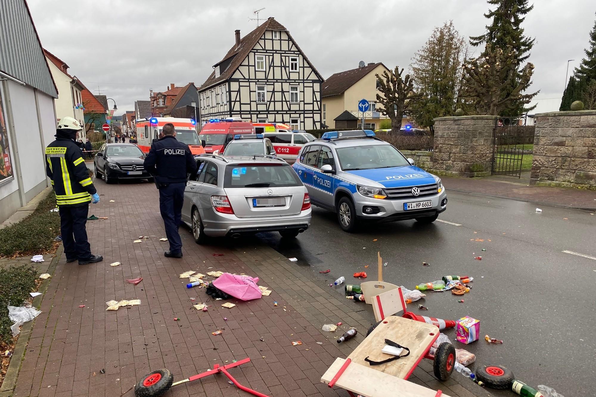 Allemagne: deux personnes tuées par une voiture dans une zone piétonne