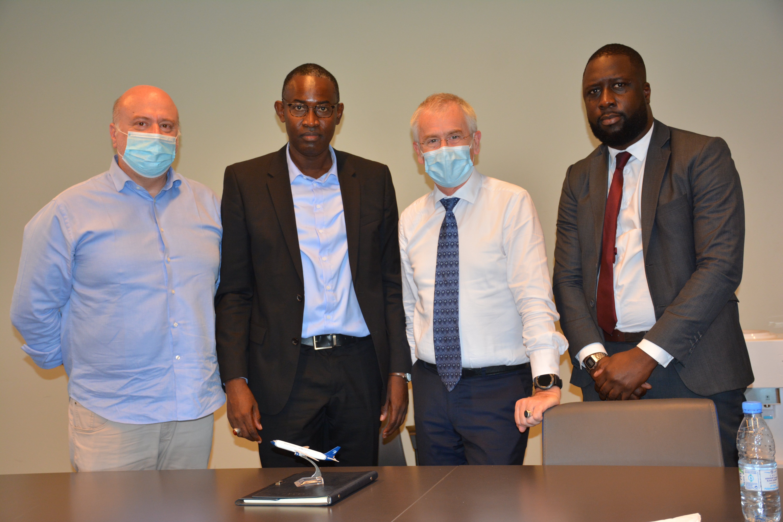 Aéroport Dakar Blaise Diagne : Montée en puissance de la compagnie Blue Panorama