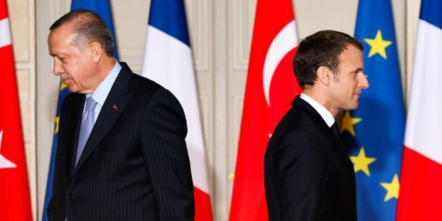 Erdogan espère voir la France «se débarrasser» de Macron «le plus tôt possible»