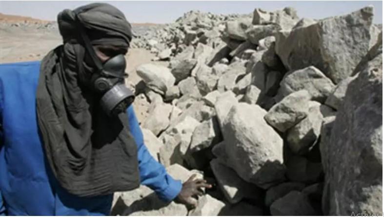 Niger: dans une mine exploitée par la compagne française Areva (illustration) (Photo : AFP)