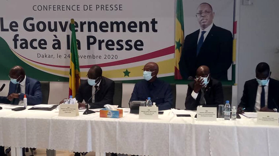 Gouvernement face à la presse: Oumar Guèye, Diouf Sarr et Moussa Baldé face aux journalistes jeudi